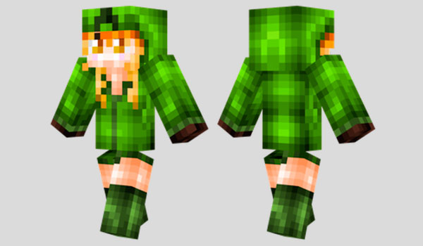 Cupa the Creeper Skin