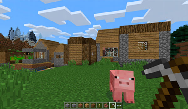 Primera imagen de Minecraft Windows 10 Edition Beta.