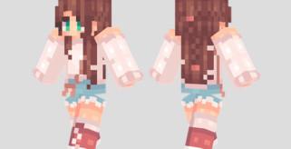 Double Braid Skin para Minecraft