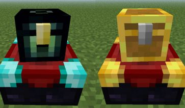 Exp Chest Mod para Minecraft 1.8