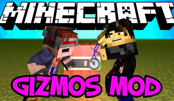 Gizmos Mod para Minecraft 1.7.10 y 1.7.2