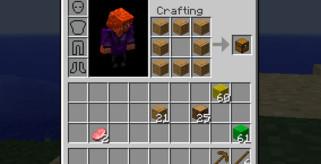 Inventory Crafting Grid Mod para Minecraft 1.8