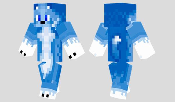 Lapis Wolf Skin para Minecraft