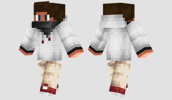 Boy Hoodie Skin para Minecraft