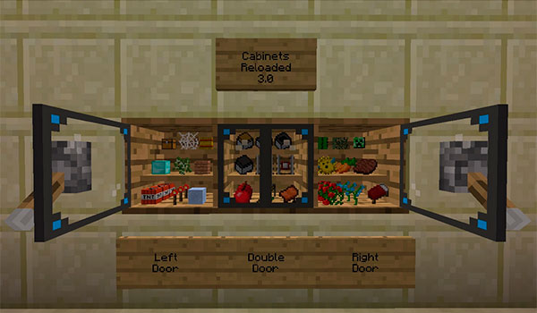 Cabinets Mod para Minecraft 1.8