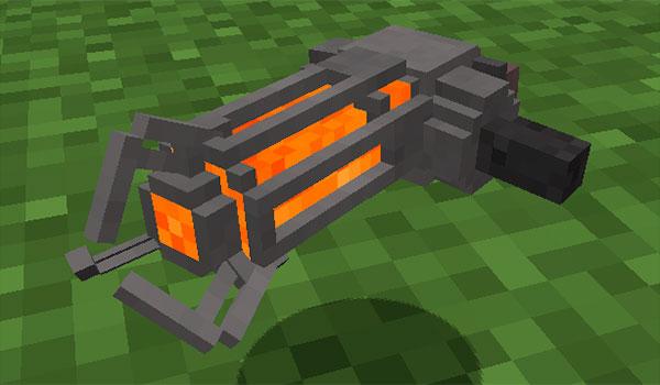Gravity Gun Mod para Minecraft 1.8