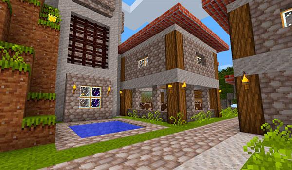 Jehkoba's Fantasy Texture Pack para Minecraft 1.8