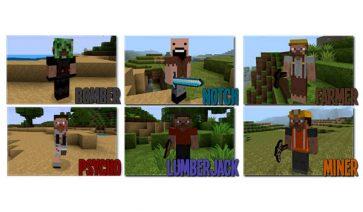 Mo' People Mod para Minecraft 1.8