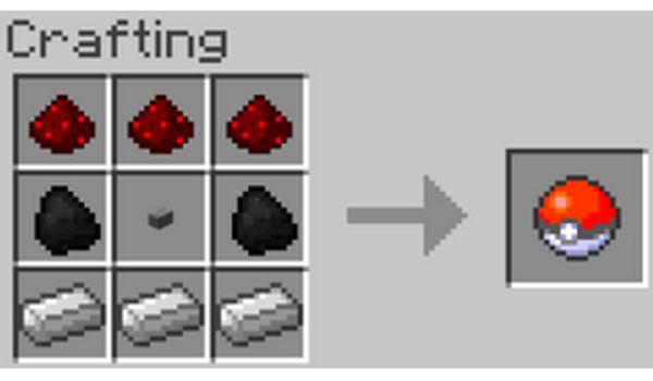 Pokeball Mod para Minecraft 1.8