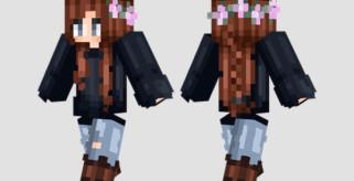 Stormy Eyes Skin para Minecraft