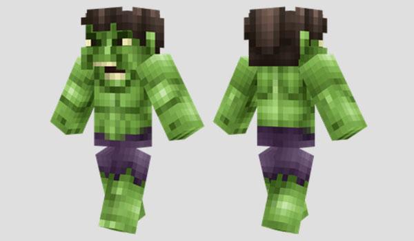 The Hulk Skin para Minecraft