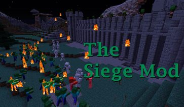 The Siege Mod para Minecraft 1.7.10