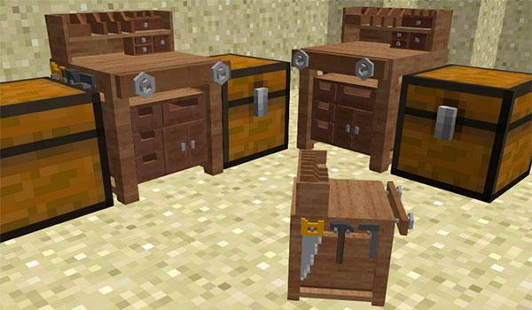Werkbench Mod para Minecraft 1.7.10
