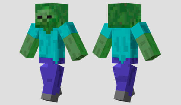 Zombie Skin para Minecraft