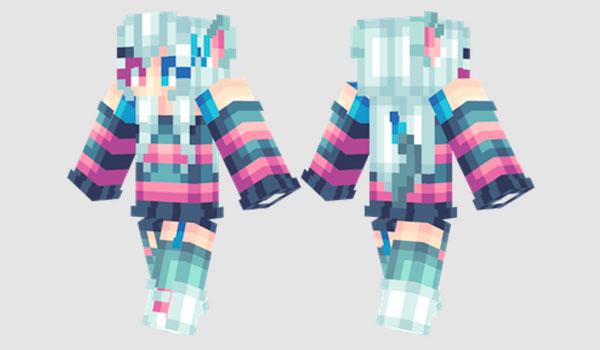 Chisaki Skin para Minecraft