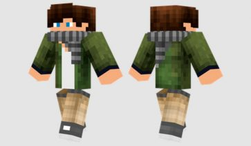 Cool Green Skin para Minecraft