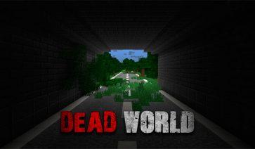 Dead World Map para Minecraft 1.8