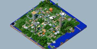 Enderbent Redstone Adventure Map para Minecraft