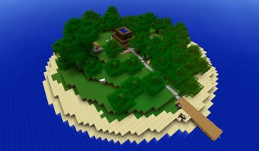 Escape Island Map para Minecraft 1.8
