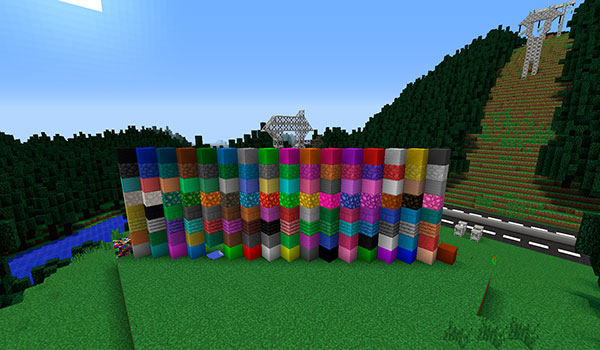 Monoblocks Mod para Minecraft 1.7.10
