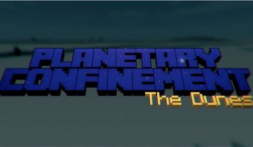 Planetary Confinement – The Dunes Map para Minecraft 1.8.3