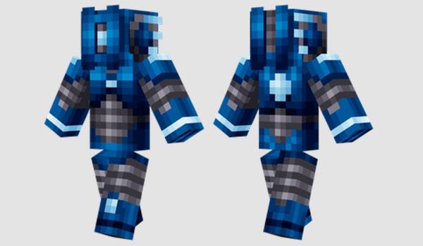 Prototype Frost Skin para Minecraft