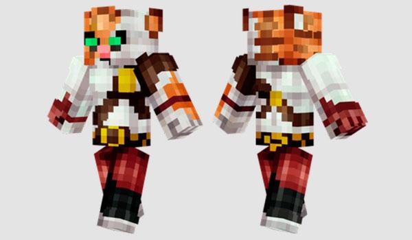 PvP Tiger Skin para Minecraft