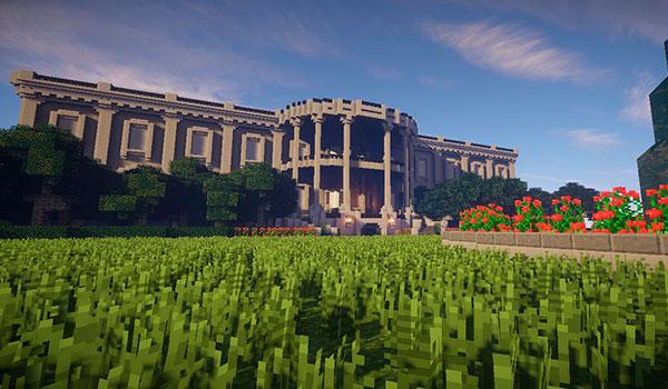 Echa un vistazo ha esta recreación de la Casa Blanca en Minecraft