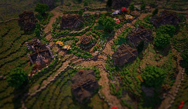 25 Jugadores recrean La Comarca del Señor de los Anillos en Minecraft