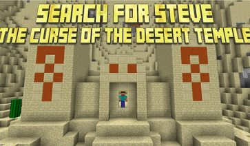 Search for Steve: The Curse of the Desert Temple Map para Minecraft 1.8