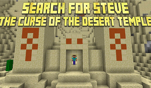 Search for Steve: The Curse of the Desert Temple Map para Minecraft