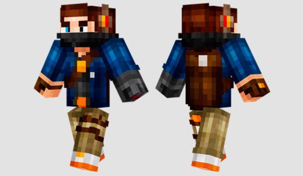 Super Parkour Guy Skin para Minecraft