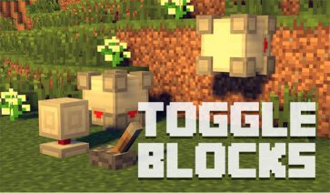 Toggle Blocks Mod para Minecraft 1.7.10
