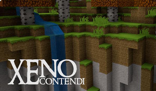 Xenocontendi Texture Pack para Minecraft 1.8