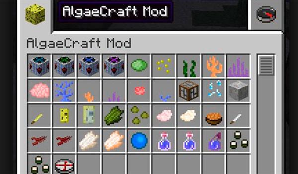 AlgaeCraft Mod para Minecraft 1.7.10