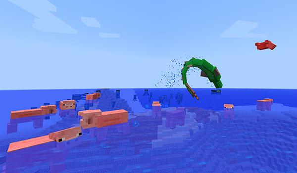 Aquatic Abyss Mod para Minecraft 1.7.10