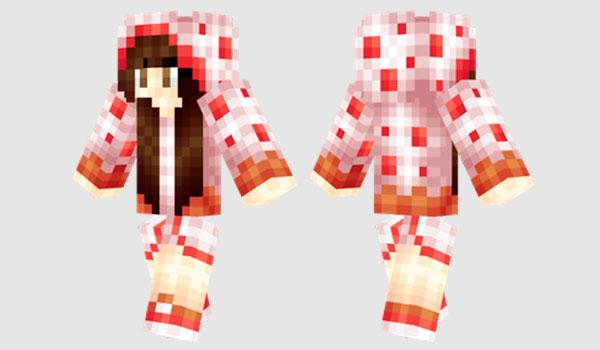 Cake Girl Skin para Minecraft