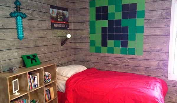 5 Habitaciones de Minecraft que cualquier joven fan quisiera tener.