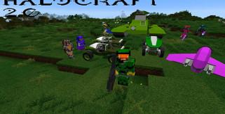 HaloCraft 2.0 Mod para Minecraft 1.8