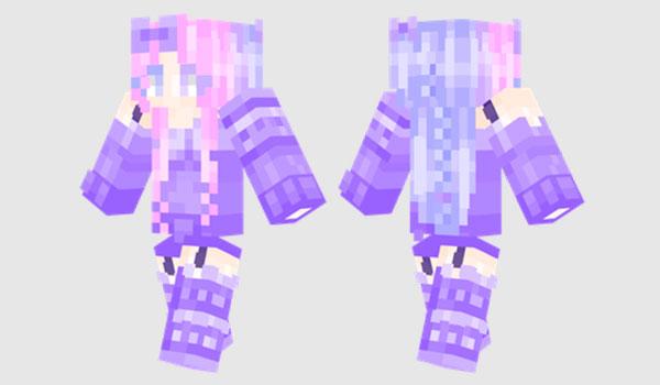 Lila Skin para Minecraft