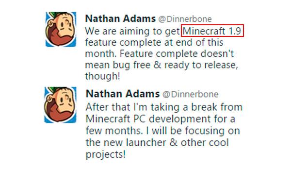 Minecraft 1.9: Se aproxima fecha de salida.