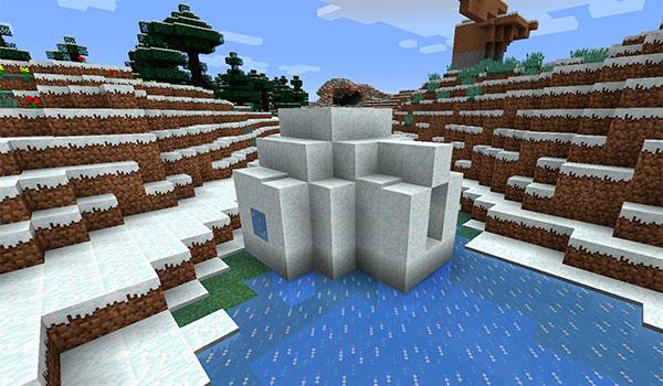 Nueva estructura para minecraft 1 9 los igl s minecrafteo - Como hacer sopa de setas en minecraft ...