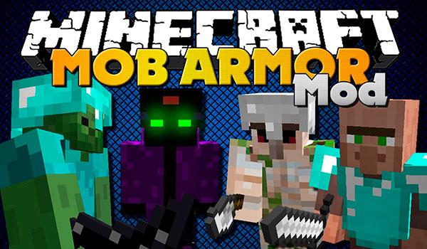 Mob Armor Mod para Minecraft 1.7.10 y 1.7.2