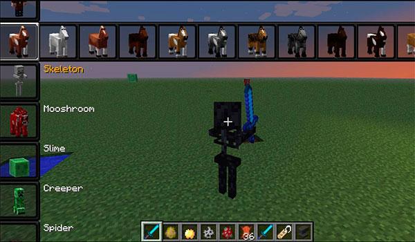 Morph Mod para Minecraft 1.7.2 y 1.7.10