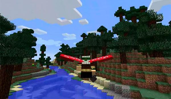¿Nuevo sistema de vuelo en Minecraft 1.9?