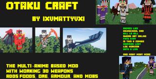 Otaku Craft Mod para Minecraft 1.7.10