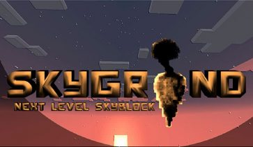 Skygrind Map para Minecraft 1.8