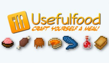 UsefulFood Mod para Minecraft 1.7.10