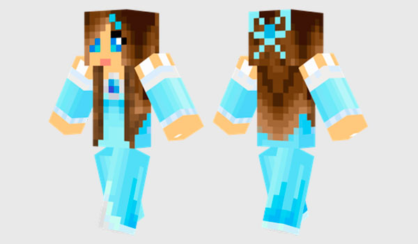 Ice Princess Skin para Minecraft