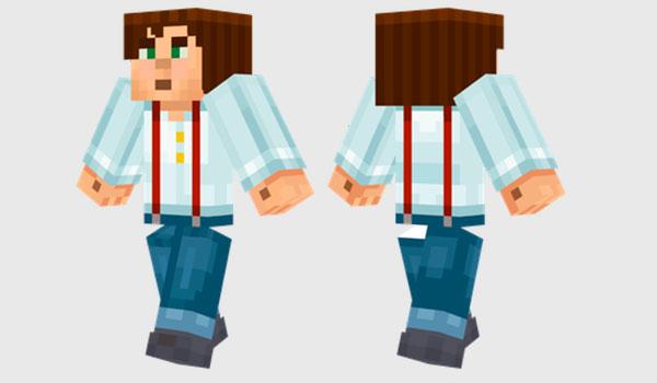 Jesse Skin Para Minecraft MineCrafteo - Skin para minecraft or